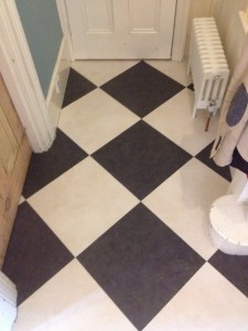LVT Beveline Black & White